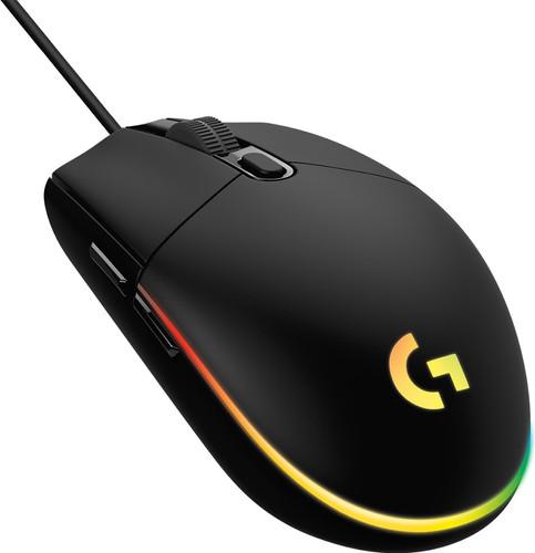 Logitech G203 Lightsync Gaming-Maus Schwarz Main Image