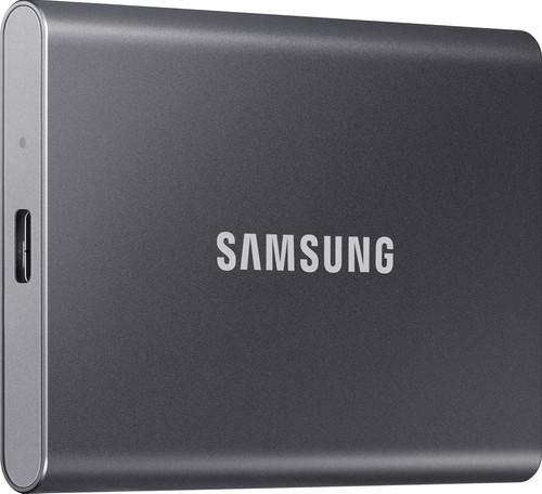Samsung Portable SSD T5, 500 GB, Grau Main Image