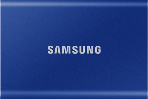 Samsung Portable SSD T7, 500 GB, Blau Main Image
