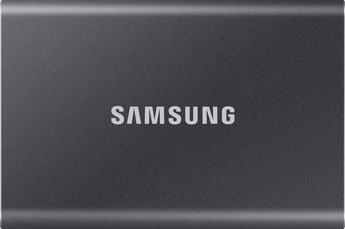 Samsung T7 Portable SSD, 2 TB, Grau Main Image
