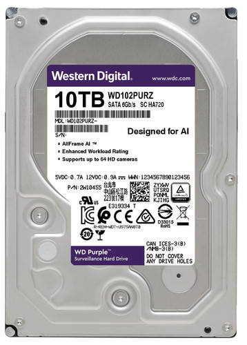 WD Purple WD102PURZ 10TB Main Image