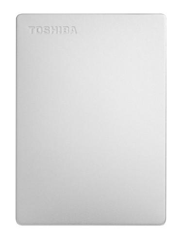 Toshiba Canvio Slim 2 TB Silber Main Image
