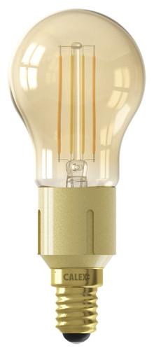 Calex WLAN Smart Kugellampe Gold mit Glühfaden E14 Main Image