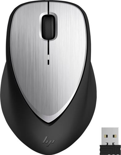 HP ENVY Wiederaufladbare Maus 500 Schwarz Silber Main Image