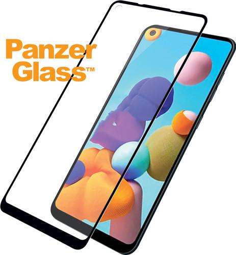 PanzerGlass Fall freundlich Samsung Galaxy A21 Displayschutzglas Main Image
