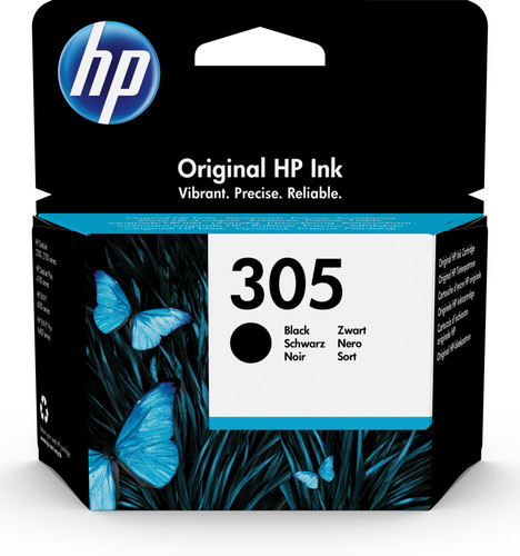HP 305 Patrone Schwarz Main Image