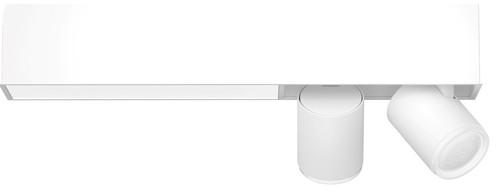 Philips Hue Centris oberflächenmontierter Spot Weiß- & Farblicht zwei Spots Weiß Rechtecki Main Image