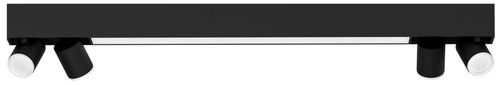 Philips Hue Centris oberflächenmontierter Spot Weiß- & Farblicht 4 Spots Schwarz Rechtecki Main Image