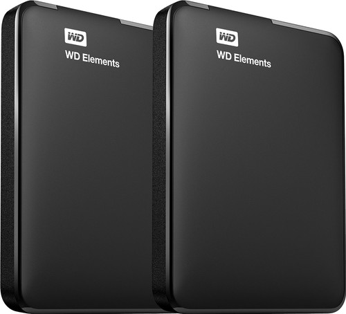 WD Elements Portable 4 TB Duo-Pack Main Image