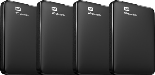 WD Elements Portable 5 TB 4er-Pack Main Image