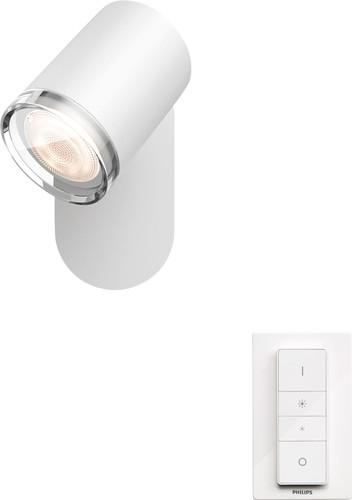 Philips Hue Adore oberflächenmontierter Spot für das Badezimmer White Ambiance 1 Spot Weiß Main Image