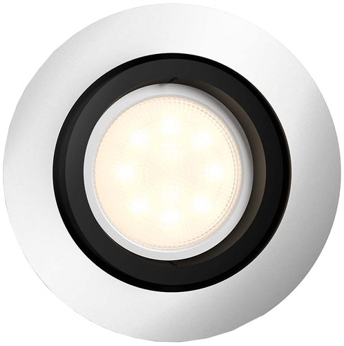 Philips Hue Milliskin Einbauspot White Ambiance Aluminium - rund Main Image