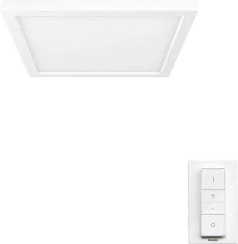 Philips Hue Aurelle Deckenleuchte White Ambiance quadratisch - klein Main Image
