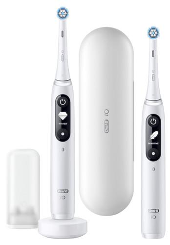Oral-B iO - 7n - Elektrische Zahnbürste Weiß, Duopack Main Image