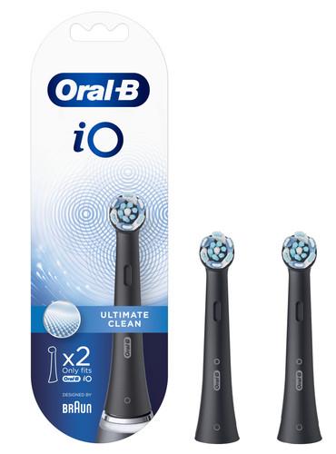 Oral-B iO Ultimate Clean Schwarz (2 Stück) Main Image