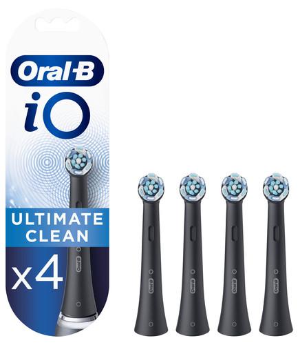 Oral-B iO Ultimate Clean Schwarz (4 Stück) Main Image