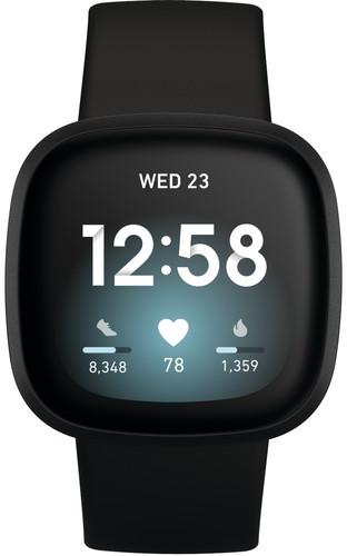 Fitbit Versa 3 Schwarz Main Image