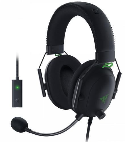 Razer Blackshark V2 Gaming-Headset + USB-Mikrofonverstärker Main Image