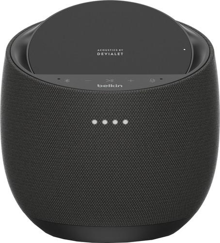 Belkin SoundForm Elite Hifi Smart-Lautsprecher mit Google Assistant Schwarz Main Image