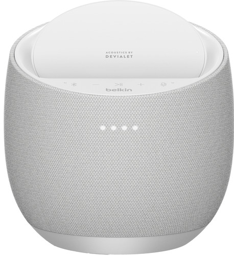 Belkin SoundForm Elite Hifi Smart-Lautsprecher mit Google Assistant Weiß Main Image