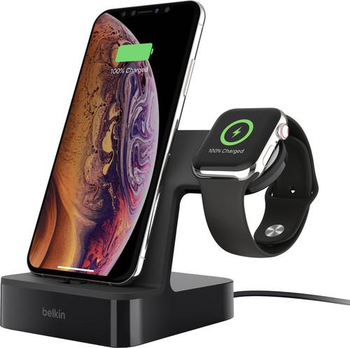 Belkin PowerHouse Dockingstation iPhone + Apple Watch Schwarz Main Image