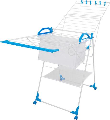 BlueBuilt-Wäscheständer 25 Meter mit Wäschekorb, Wäscheklammern und Wäschenetz Main Image