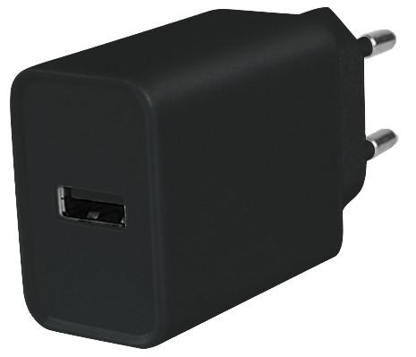 Zweite Chance Azuri Ladegerät ohne Kabel 1 USB-A-Port 12 W Schwarz Main Image