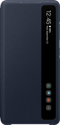 Samsung Galaxy S20 FE Clear View Buchhülle Blau Main Image