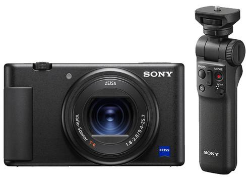 Sony ZV-1 Vlog + GP-VPT2BT Grip Main Image