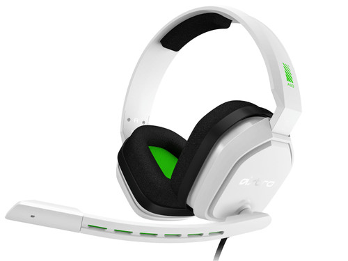Astro A10 Gaming-Headset voor PC, PS5, PS4, Xbox Series X|S, Xbox One - Weiß/Grün Main Image