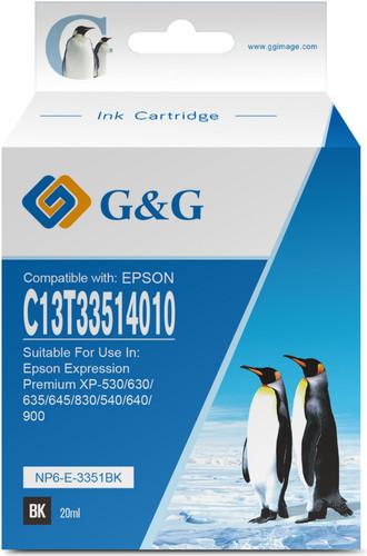 G & G 33XL Patronen Schwarz Main Image