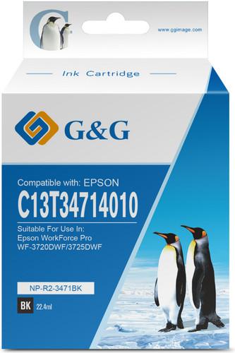 G & G 34XL Patrone Schwarz Main Image