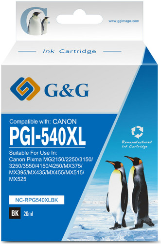 G & G PG-540XL Patrone Schwarz Main Image