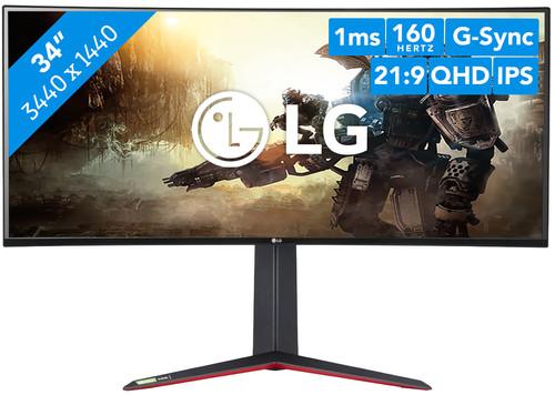LG UltraGear 34GN850 Main Image
