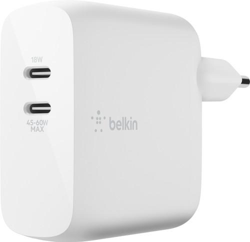 Belkin Ladegerät ohne Kabel, 2 USB-Anschlüsse, 60 W Power Delivery 3.0 Main Image