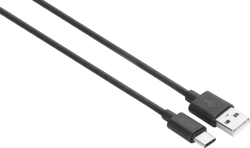 Azuri USB-A nach USB-C Kabel 1 m Kunststoff Schwarz Main Image