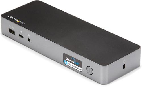 StarTech Hybrid Universal USB-C & USB-A Dock mit Dual HDMI/DP und 60W PD Main Image