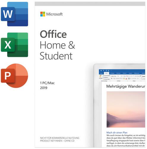 Microsoft Office Home & Student 2019 Mac/Win 1 Nutzer 1 Jahr Pro Main Image