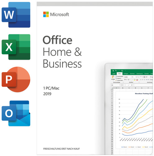 Microsoft Office Home and Business 2019 Projekt Retail (P) Main Image
