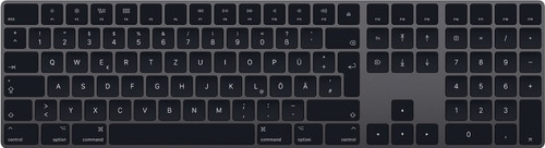 Apple Magic Keyboard mit Nummernblock - Space Grau Main Image