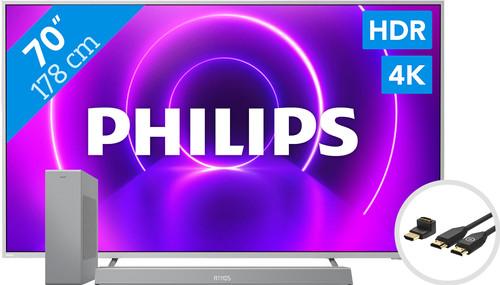 Philips 70PUS8505 - Ambilight (2020) + Soundbar + HDMI-Kabel Main Image