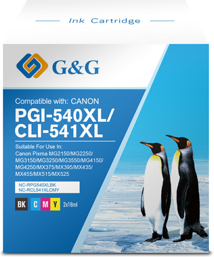 G & G 540XL / 541XL Patronen Kombipack Main Image