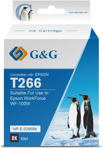 G & G 266 Patrone Schwarz Main Image