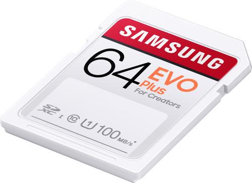 Samsung SD card Evo Plus 64 GB Main Image