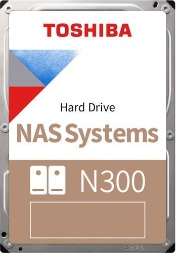 Toshiba N300 NAS Hard Drive 8 TB (256 MB) Main Image