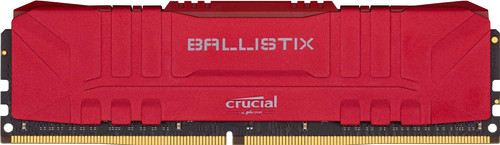 Crucial Ballistix 8 GB 3.600 MHz DDR4-DIMM CL16 Red (1 x 8 GB) Main Image