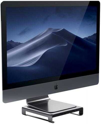 Satechi Aluminum iMac Monitorständer Hub Space Grey Main Image