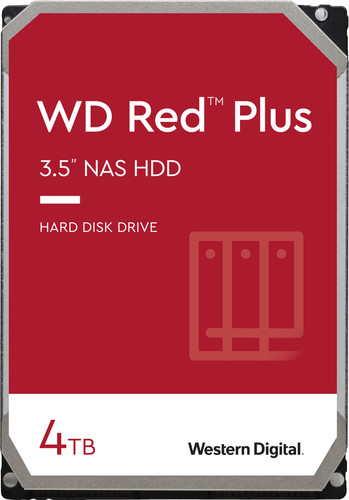 WD Red Plus WD40EFZX 4 TB Main Image