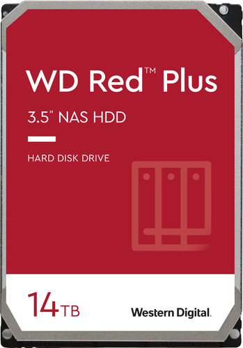 WD Red Plus WD140EFGX 14 TB Main Image