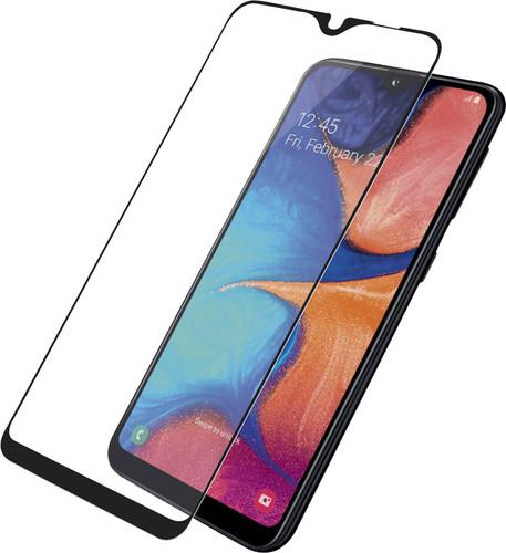 PanzerGlass Fall freundlich Samsung Galaxy A20e Displayschutzfolie Glas Schwarz Main Image